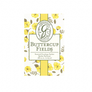 Greenleaf Small Scented Sachet - Buttercup Fields